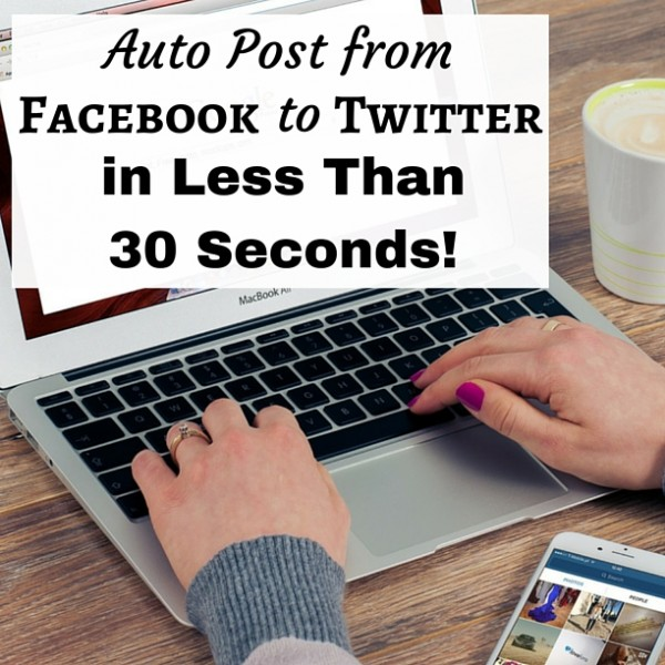 Save time on social media by auto posting from Facebook to Twitter in one simple step. Learn how right now.