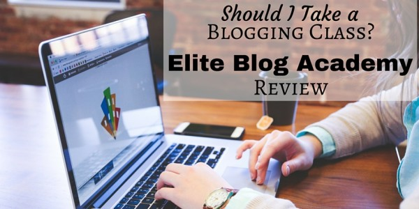 Connect with other bloggers that are working on growing their blogs by taking a blogging class. Elite Blog Academy Review.