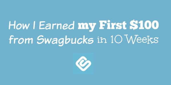 I started using Swagbucks thanks to a recommendation from a trusted blogger. She insisted you could earn cash from Swagbucks with very little work.