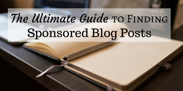 Looking for sponsored posts? This is the most comprehensive list of where to find offers for sponsored posts for bloggers.